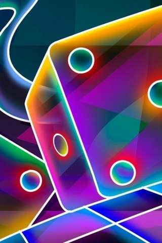 3D Dice Cube