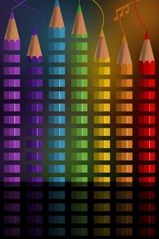 Rainbow-Pencils