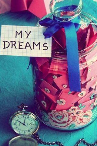 मैं एक जार विंटेज Lomographt में मेरे सपने रखें