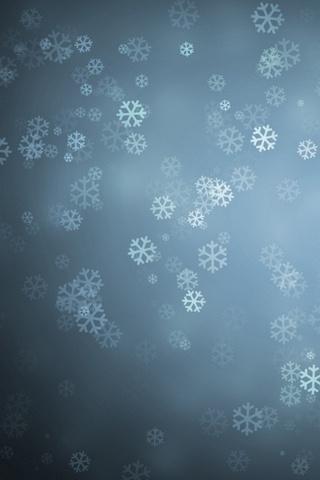 Snowflakes-Background