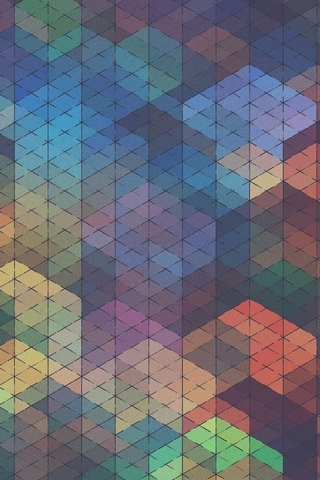Colored Diamond Background