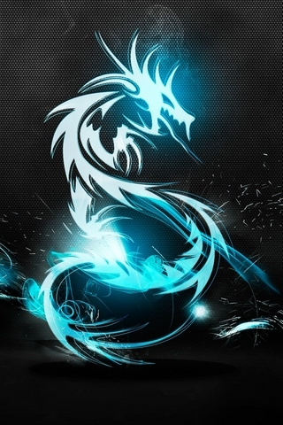 Dark Blue Dragon
