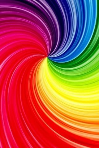 Радужные спирали