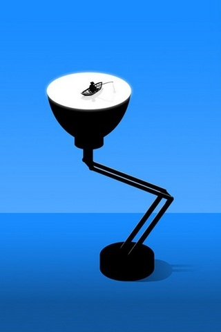 Boating On Lamp