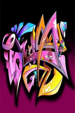 3D Graffiti Art