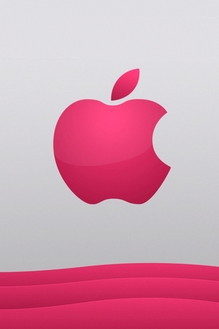 Pink-apple-logo