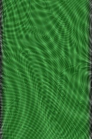 Green Moire Glass
