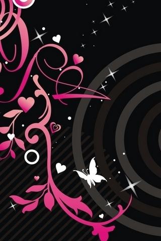 Resumo de rosa e preto