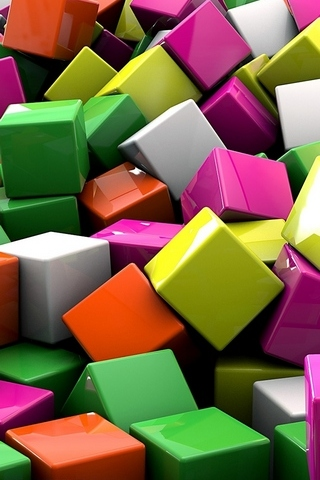 3D-Colored-Cubed