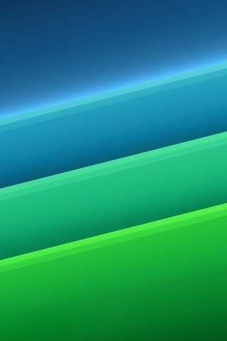 Green And Blue Layers