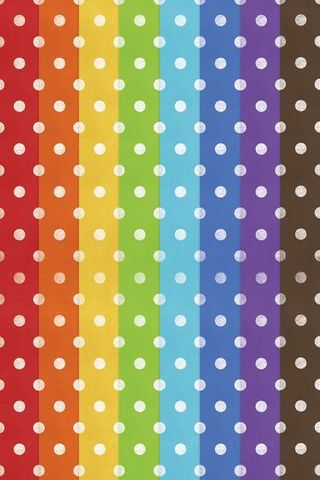 Colourful Polkadots
