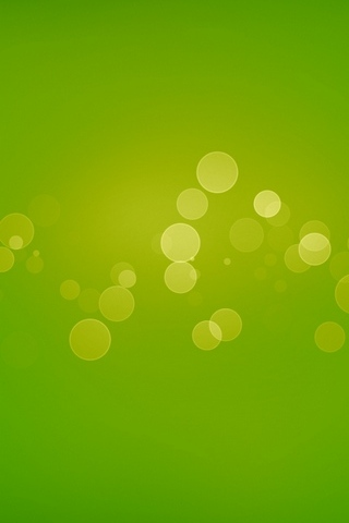 Spots verts