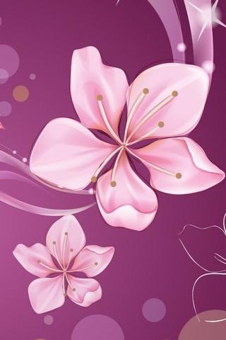 Motif d'hibiscus