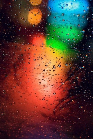 Colored-lights-drops
