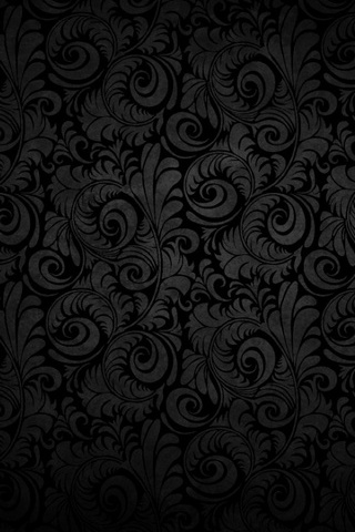 Flower Black Design