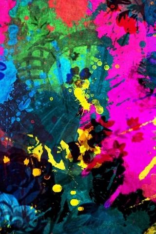 Paint Splatter - IPhone5