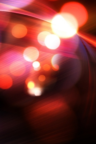 Abstract-Red-Bokeh