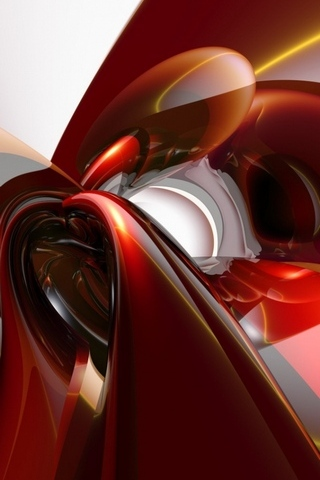 3D抽象的なアート