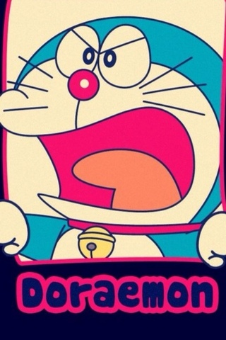 Doraemon en colère