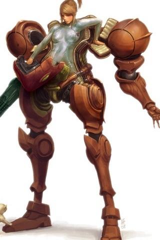 Samus Aran - Suit