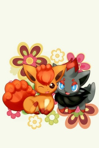 Vulpix And Zorua