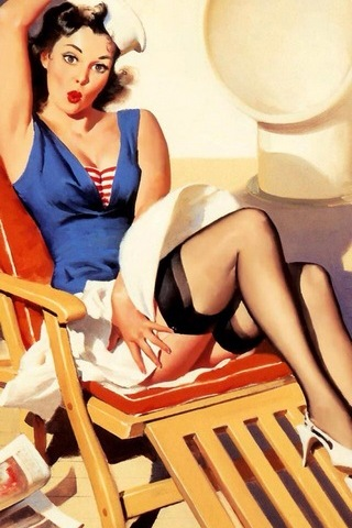 Pinup-sailor