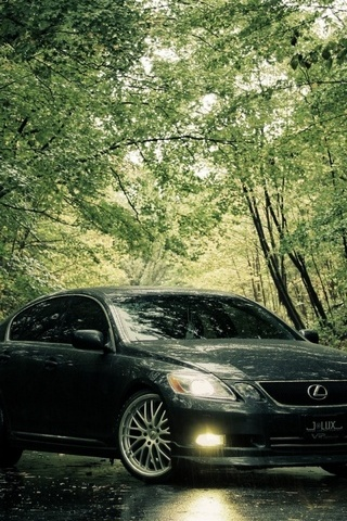 Lexus-In-The-Rain