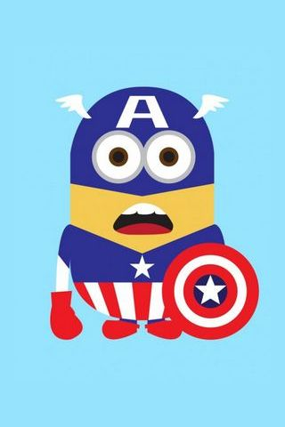 Captain America Super Minion