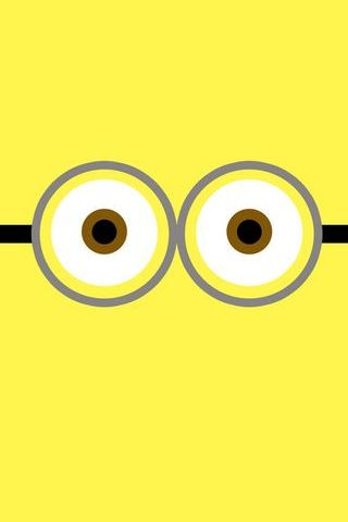 Yellow Minion Eye