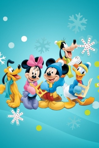 Mickey Mouse Family