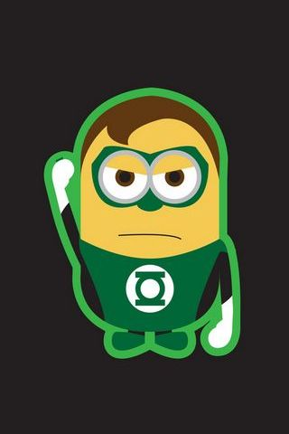 Green Lantern Super Minion