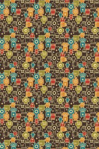Monster Patterns 08