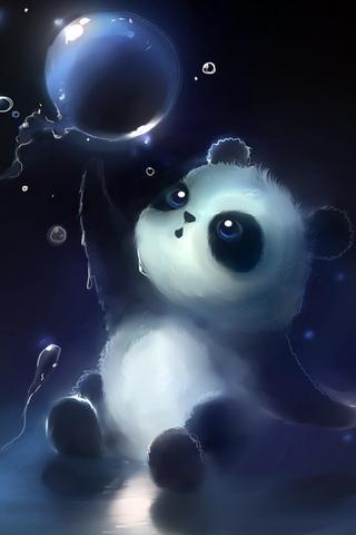 Panda Magic Bubbles