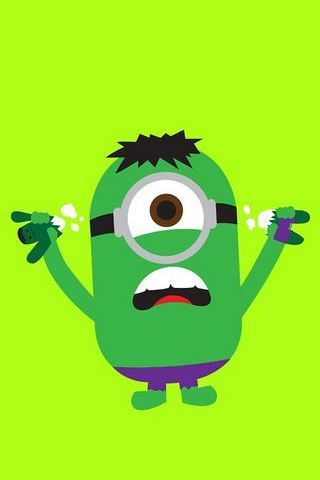 Incredible Hulk Super Minion