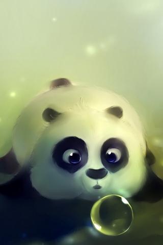 Funny Kung Fu Pandas - IPhone5