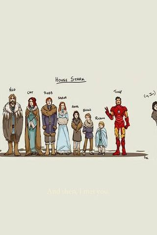 House Of Stark . Ironman? Or Games Of Throne