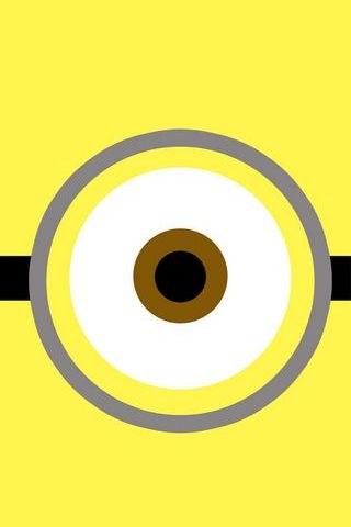 Yellow Minion Single Eye