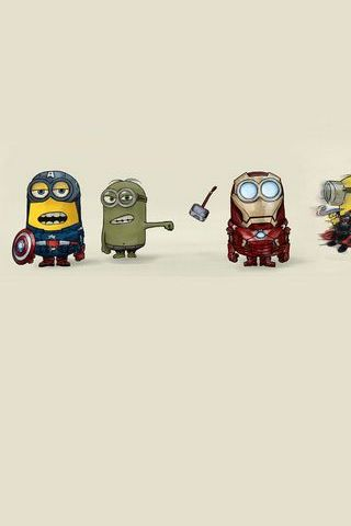 Super Minion Fantastic 4