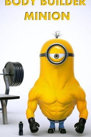Body Builder Minion