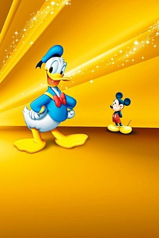 Donald Duck And Mickey
