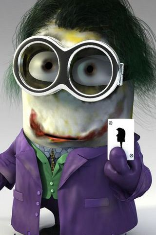 Jokerman Minion