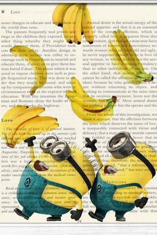 Minion Notebook Banana Doodle II