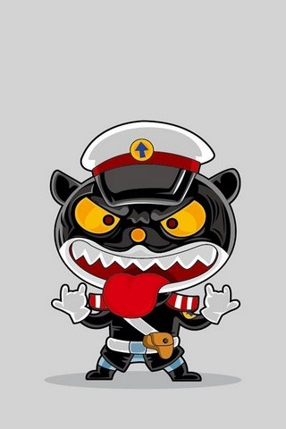 Police Cat