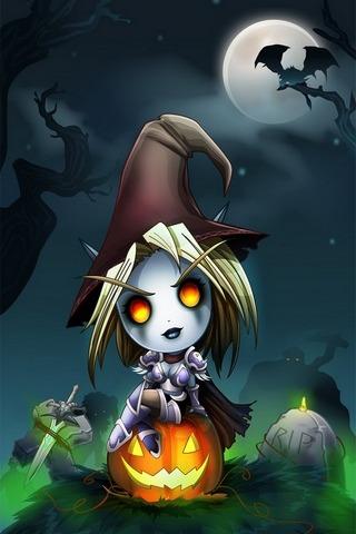 Forsakens Halloween 640x1136