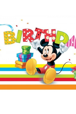 Birthday Mickey Mouse
