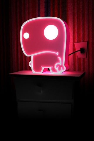 3D Table Lamp - IPhone5