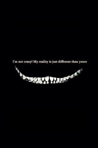 Je ne suis pas fou!