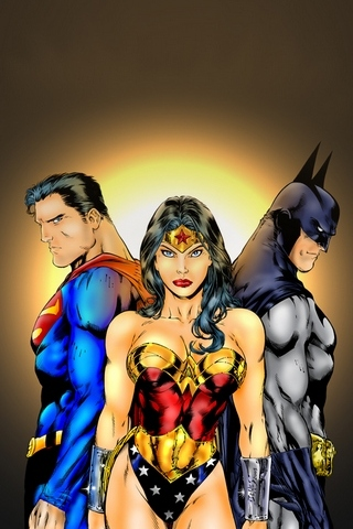 Justice League Trio