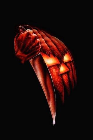 Killer Halloween Pumpkin 640x1136