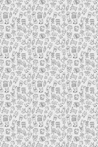 Monster Patterns 09